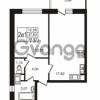 Продается квартира 1-ком 37.82 м² Советский проспект 42, метро Рыбацкое