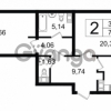 Продается квартира 2-ком 70.82 м² Новгородская улица 17, метро Чернышевская