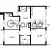 Продается квартира 3-ком 114.41 м² Новгородская улица 17, метро Чернышевская