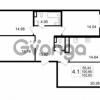 Продается квартира 4-ком 100.66 м² улица Катерников 1, метро Проспект Ветеранов