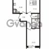Продается квартира 2-ком 55.25 м² улица Катерников 1, метро Проспект Ветеранов