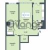 Продается квартира 3-ком 87.49 м² Дунайский проспект 7, метро Звёздная