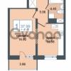 Продается квартира 1-ком 37.99 м² Дунайский проспект 7, метро Звёздная
