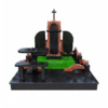 Изготовление памятников из мрамора, гранита и габбро, мемориальные комплексы от производителя