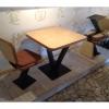 Продам столы и стулья из фанеры на метал. основе б/у в ресторан, кафе, общепит