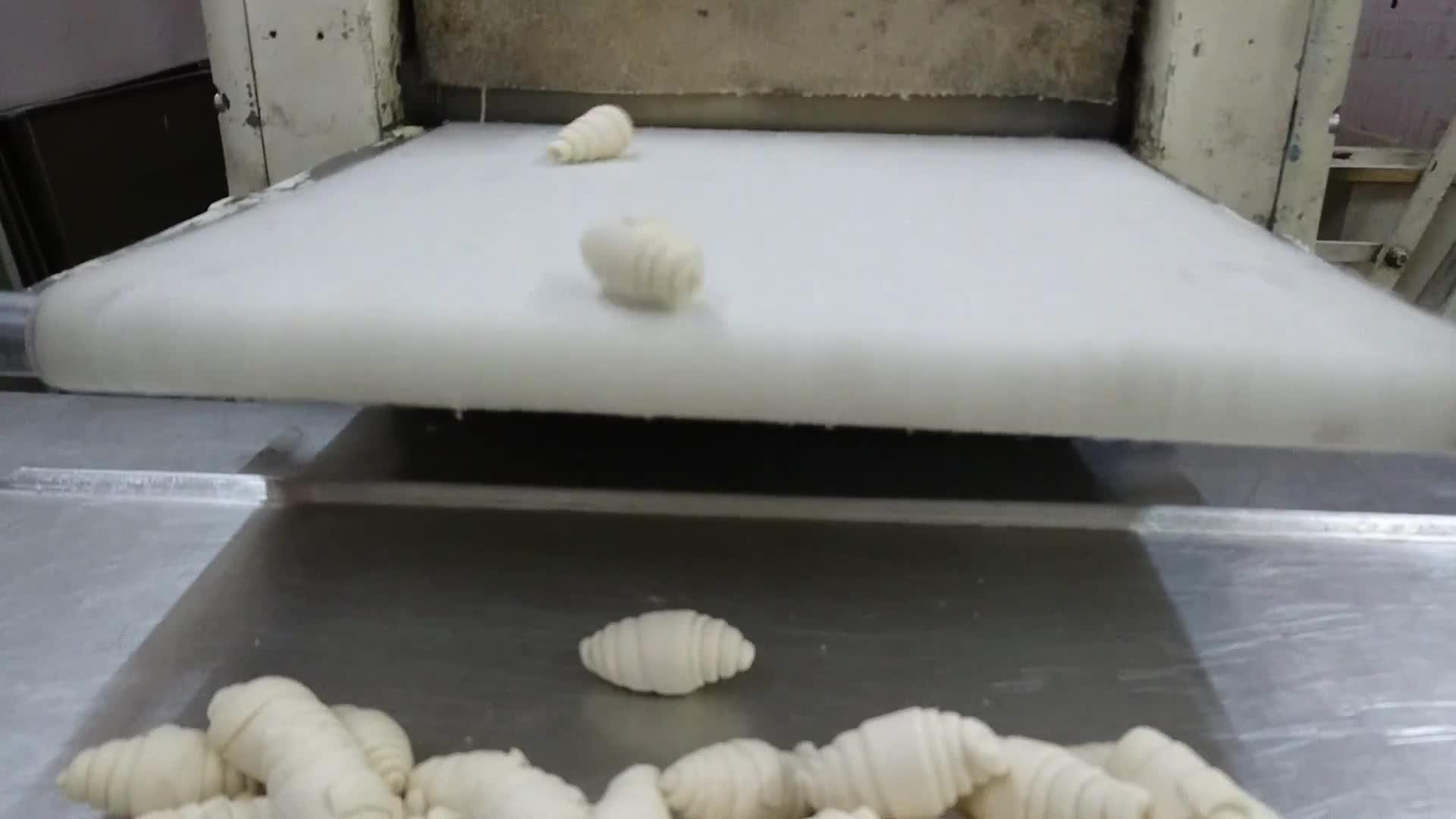 Конвейерные ленты-рукава к круасаноматам
