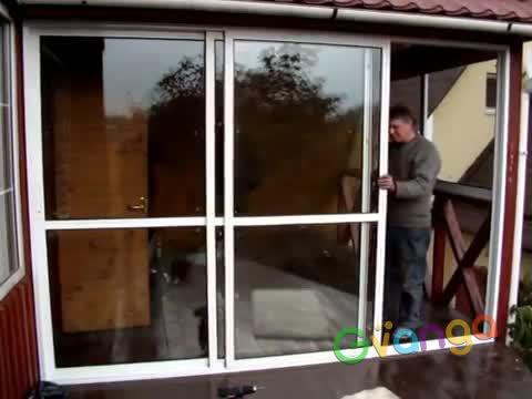 """Вертикально сдвижные подъемные окна - """"гильотина"""". Алюминий и пластик"""